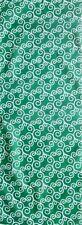 Japanese Tenugui Cotton Cloth Green Karakusa Tea Towel Great Gift TB157