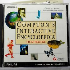 Compton's Interactive Encyclopedia  (CD-i, 1992) Philips CDI Brand New!!