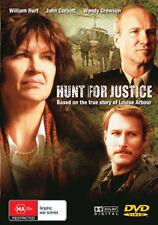 William Hurt Wendy Crewson HUNT FOR JUSTICE - TRUE STORY CRIMINAL TRIBUNAL DVD