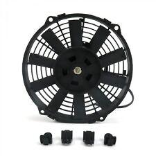 8 inch Push Pull Electric Radiator Cooling Slim Fan Mount Kit 605 cfm Universal