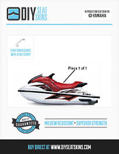 Yamaha GP 800 1200 1300 R RED Seat Skin Cover 02 03 04+ FREE EMAILED PDF MANUAL!