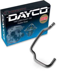 Dayco Heater Inlet HVAC Heater Hose for 1997-2003 Ford F-150 4.2L V6 Heating hv