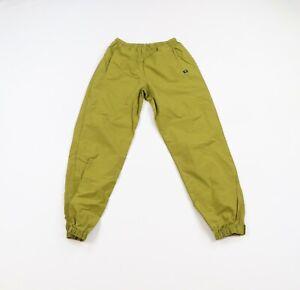 Vintage 90s Streetwear Mens Size Large Ripstop Nylon Joggers Jogger Pants Green