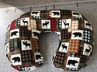 Boppy pillow Cover So Darn Cute Deer & Bear Print Also Take Orders USA