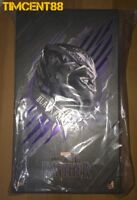 Ready! Hot Toys MMS470 Black Panther 1/6 Chadwick Boseman Figure