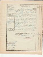 REGNO DUE SICILIE - Pagamento a Vincenzo Greco  ingegnere Prov.le  - Noto 1859