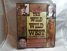 WILD WILD WEST COLLECTORS BINDER COMPLETE WITH AUTOGRAPH A13 AND PROMO