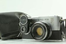 【EXC3+ w/Case】 Olympus PEN F Half Flame Camera 38mm f/1.8 Lens Light Meter Japan