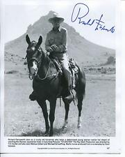 RICHARD FARNSWORTH ACTOR IN THE GRAY FOX / MOVIE STUNTMAN SIGNED PHOTO AUTOGRAPH
