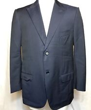 "ISAIA NAPOLI Men's Navy Blue Jacket Men's 54 made in Italy  BASE ""S"" 2094 PN"