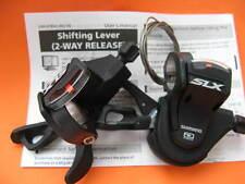 Palanca de cambio sl-m670 Shimano SLX Rapidfire plus 2/3x10 set disparador negro nuevo