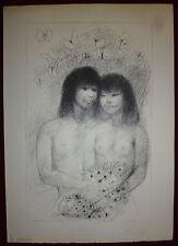 Goerg Edouard Lithographie originale signée numérotée Erotic + 1 gravure