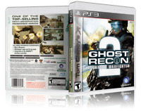 Tom Clancy's Ghost Recon Advanced Warfighter 2 - Custom PS3 Cover & Case.NO GAME