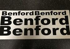 Benford Dumper/Rouleau/Corps Sticker Autocollants x4