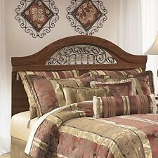 Signature Design by Ashley Fairbrooks Queen/Full Panel Headboard Reddish Brown