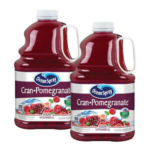 (2 Pack) Ocean Spray Cranberry Pomegranate Juice Drink, 101.4 fl oz