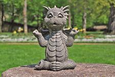 Gartendrache Ommm Yoga Drachenfiguren Drache Deko Figur Fantasy Gargoyle Dragon