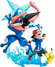 G.E.M. Series Pokemon Ash & Pikachu & Ash Greninja PVC Painted Figure Original