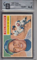 1956 Topps #113 Phil Rizzuto YANKEES GAI 4.5 VG-EX+ Z10255 - NM-MT