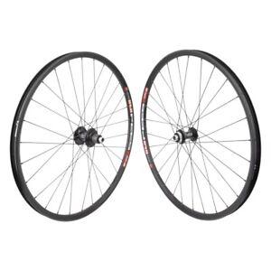"DT 533D 650b 27.5"" MTB Wheelset 15x100mm 12x142mm Black Shimano Microspline 28h"