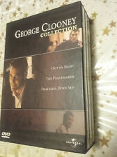 cofanetto 3 dvd sigillati GEORGE CLOONEY COLLECTION Out of sight The peacemaker