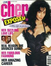 CHER Exposed Magazine Winter 2000 AMI Special USA Photo History Biography
