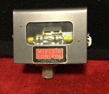 Dwyer Mercoid Control Pressure Mercury Switch -10 to 50 Inches of Water Gauge