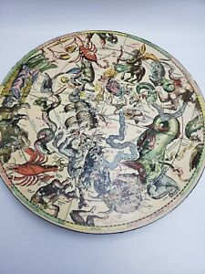 Vintage 1965 Springbok Round Puzzle Myth And Fact In The Zodiac