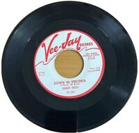 Jimmy Reed ‎– Down In Virginia / I Know It's A Sin - Vee Jay ‎VJ 287 - 45 rpm 7""