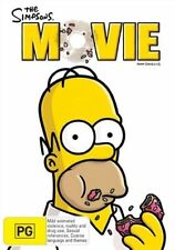 The Simpsons Movie DVD R4 Postage