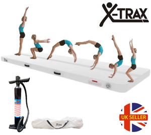 3M Air Track Floor Inflatable Airtrack Gymnastics Tumbling Mat GYM Training Pump
