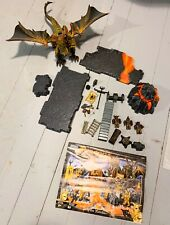 2003 Mega Bloks Dragons #9882 Fire Mountain Building Set -