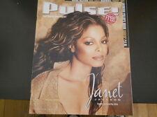 Janet Jackson, Maxwell, Billy Joe Shaver - Pulse Magazine 2001