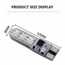 2 Piezas T10 W5W LED Coche Luces Bombillas LED RGB con Mando a Distancia