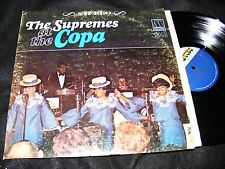 THE SUPREMES At The Copa STEREO Banner LP Motown Original Clen 1965 Classic Soul