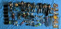 "Lot 14 KISS Mcfarlane Loose Action Figure Toy Accessories 7"" 1998 Paul Ace"