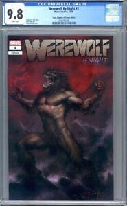 Werewolf by Night #1  Lucio Parrillo Variant Comic Kingdom of Canada CGC 9.8