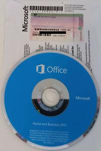 Microsoft Office Home and Business 2013 mit DVD - Deutsch