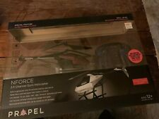 Propel Remote Control Helicopter NForce 2.0 3.5 Channel Gyro RC Drone NIB