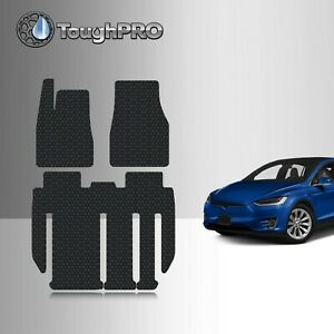 Toughpro Tesla Model X 7 Seater Floor Mats Set Built From 2018 - Aug 2020