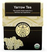Yarrow Tea by Buddha Teas, 18 tea bag 1 pack