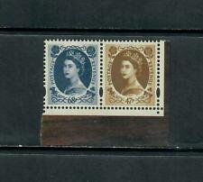 03 Pair Of Wilding Anniversary Stamps From Prestige Book Dx31 Mnh