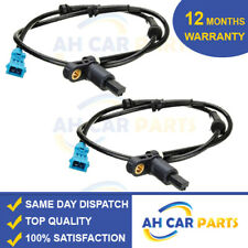2X ABS SPEED SENSOR PEUGEOT 206 REAR DRIVER AND PASSENGER SIDE AWS011
