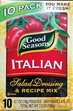 Good Seasons Italian Salad Dressing & Recipe Mix - 10 Pack 0.7 oz Ea - Fresh