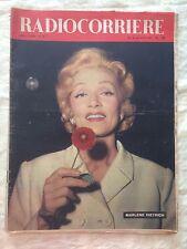 Radiocorriere n.34 agosto 1957 - Marlene Dietrich