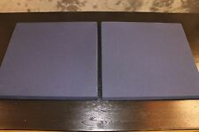 Two New JBL 4425 Studio Monitor Grilles Dark Blue Fabric