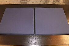 Original JBL Dark Blue Fabric Two New JBL 4425 Studio Monitor Grilles