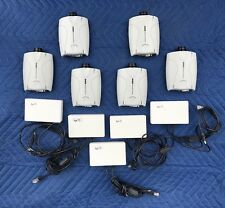 LOT OF (6) AXIS 2100 NETWORK CAMERAS & (5) POWERDSINE SPLITTERS