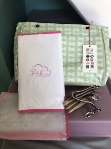 Brand New Pink Lining Changing Nappy Bag