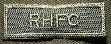 """CANADIAN ARMY COMBAT TAB UNIT BADGE  INSIGNIA  """"RHFC""""  4 FOR $1 MIX & MATCH"""